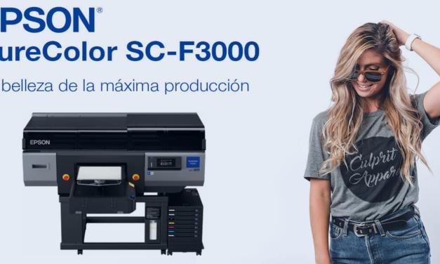 Epson presenta la SureColor SC-F3000