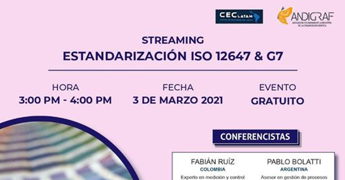 Estandarización ISO 12647 & G7