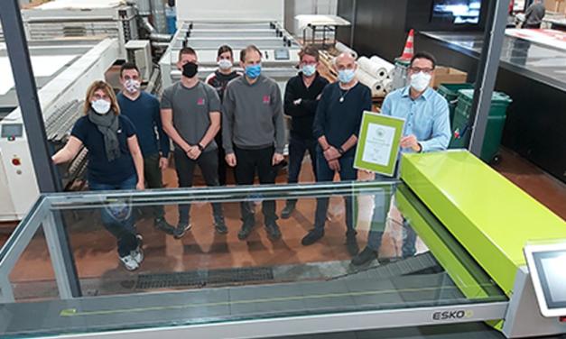 Medialliance Graphic, primer fabricante de planchas certificado por ESKO XPS Crystal