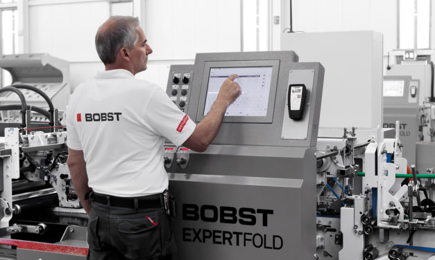 Nueva Bobst Expertfold 110 A3